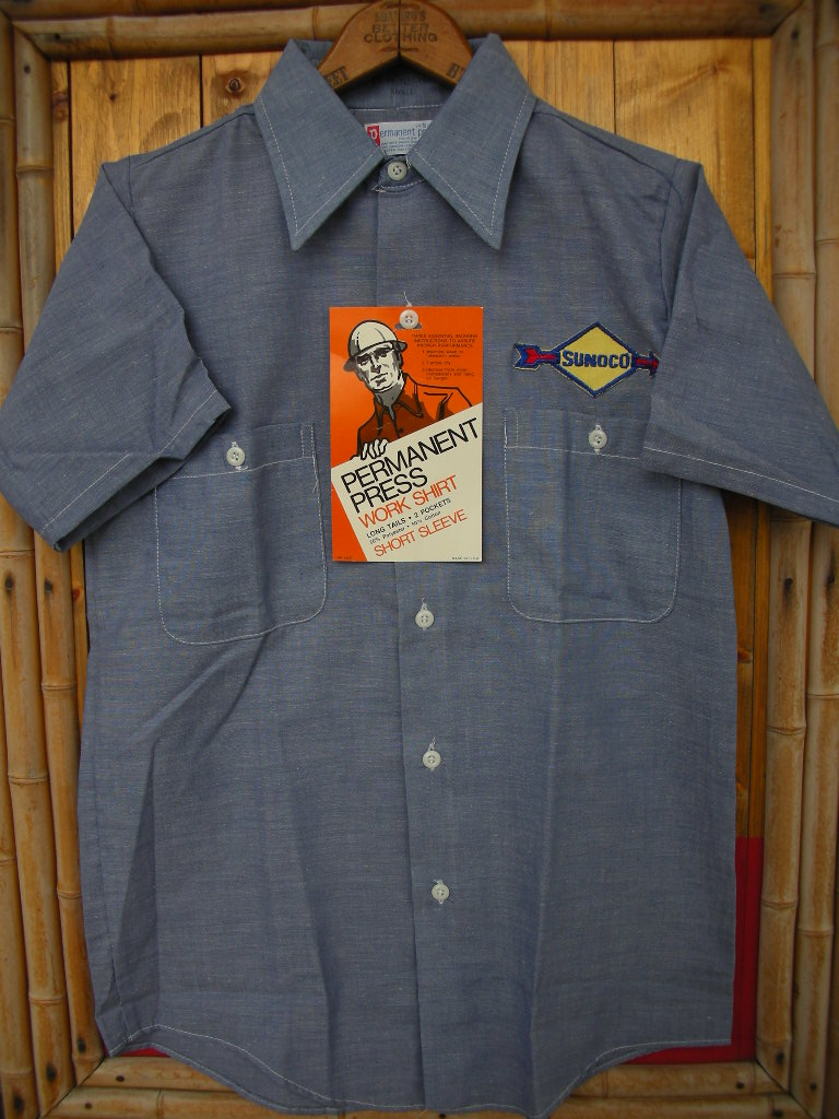 CUSTOM PATCHED NEW OLD STOCK WORK SHIRT_c0187684_1611410.jpg