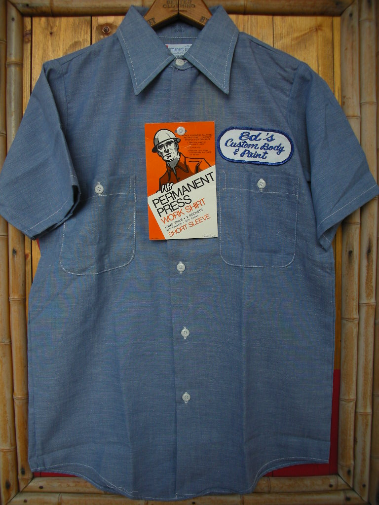 CUSTOM PATCHED NEW OLD STOCK WORK SHIRT_c0187684_1694524.jpg