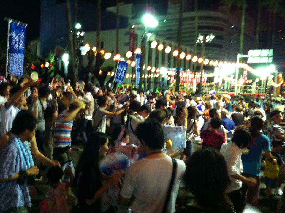 「新町橋の阿波踊り2012」(@徳島市)_f0064203_101131.jpg