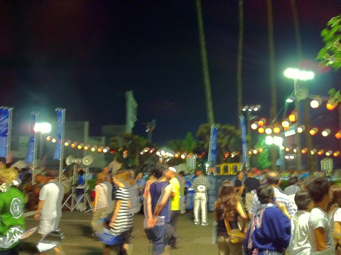 「新町橋の阿波踊り2012」(@徳島市)_f0064203_10124185.jpg