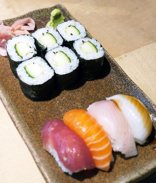 LONDON〜世界各地で食べた寿司・・・やっぱ何でも本場でナンボだね。_b0032617_12402544.jpg