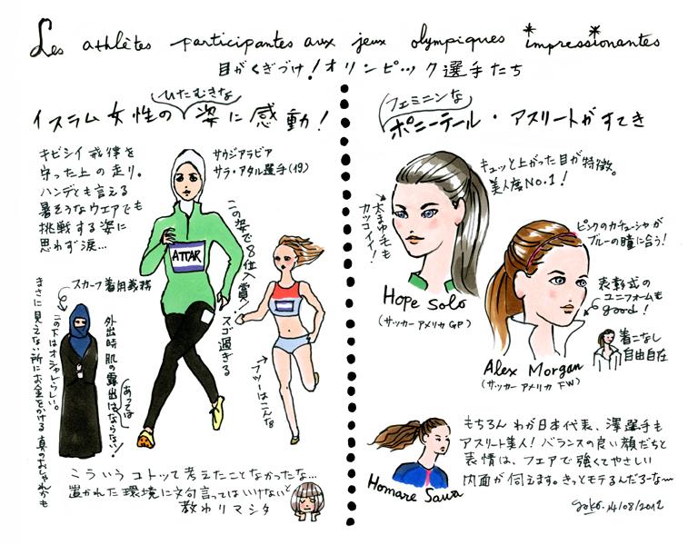オリンピックで世界の女性を知る_e0262430_11481862.jpg
