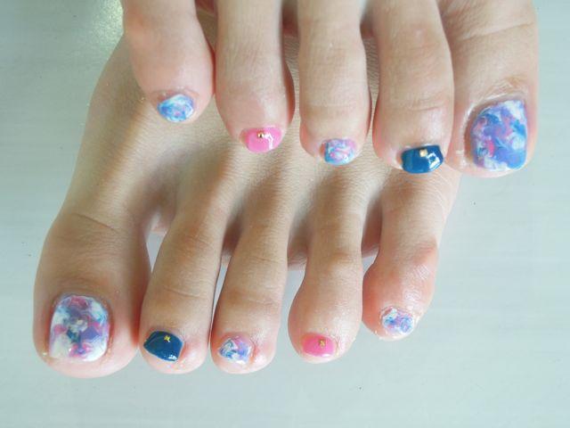Marble  Foot Nail_a0239065_12555920.jpg