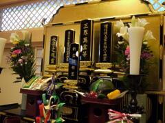 お盆祭壇への参詣    8/9~8/16まで設置_a0274383_755730.jpg