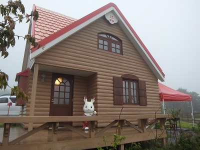 シルバニアファミリー「森の小さなお家」_d0044093_22523483.jpg