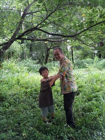2012年のお盆に末森城址に行った。_d0148223_1137359.jpg