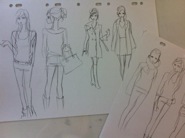 パリで描いたスケッチと女性観_e0262430_149231.jpg