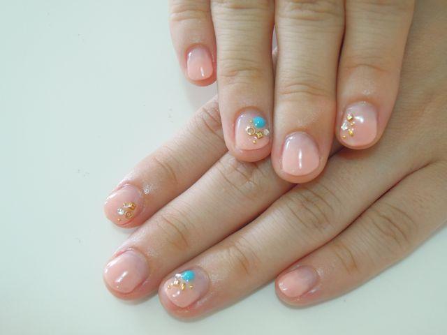 Pickup Nail〜Pink_a0239065_12575896.jpg