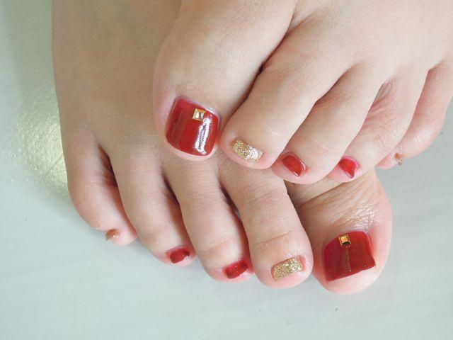 Red Foot Nail_a0239065_18535927.jpg