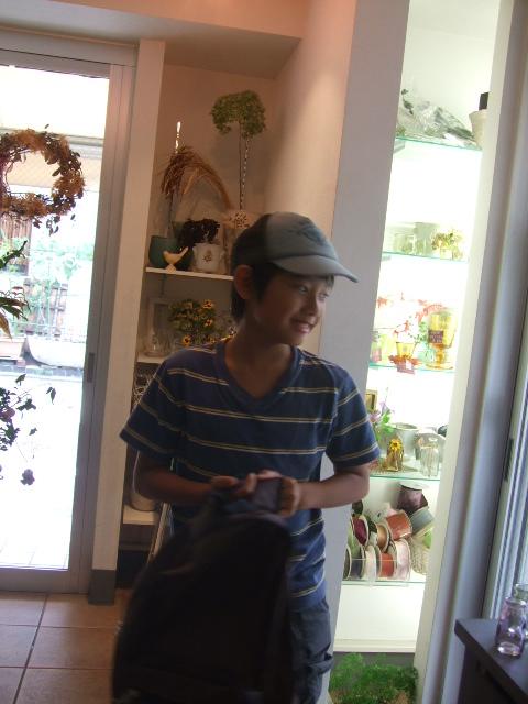 オークリーフ(ヒマワリ・チョコフレンド)_f0049672_164445100.jpg