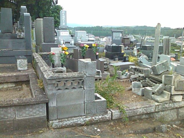 警戒区域解除の楢葉町へ墓参_e0068696_203969.jpg