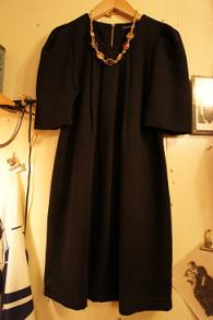 秋物新商品 BLACK DRESS_f0144612_1244595.jpg