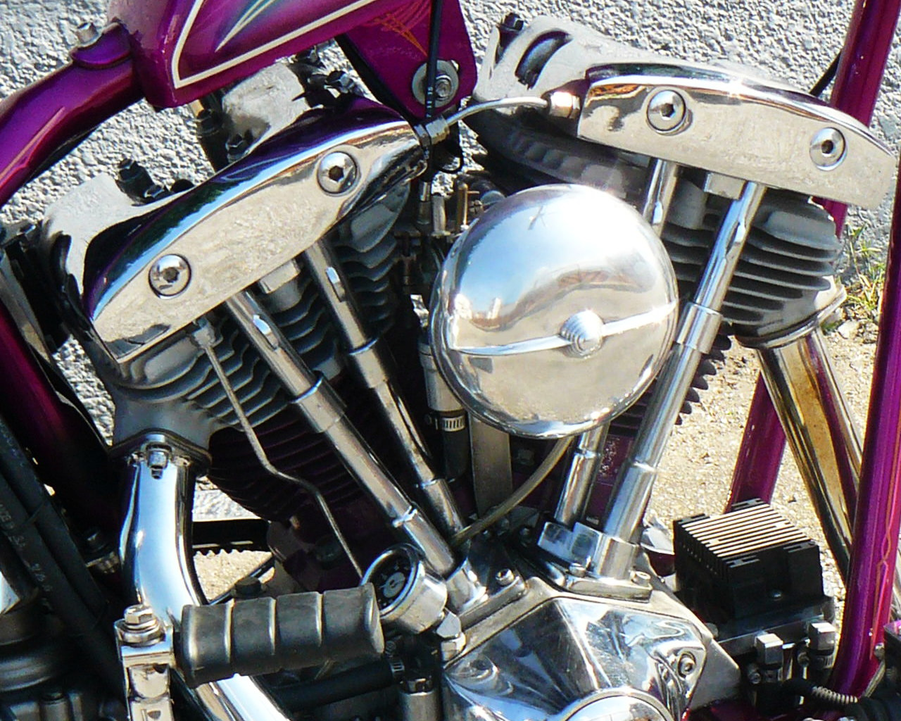 \'81 SHOVEL CHOPPER_b0160319_18172068.jpg