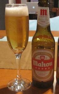 マドリッドのビールが入荷しました_d0177560_2027545.jpg