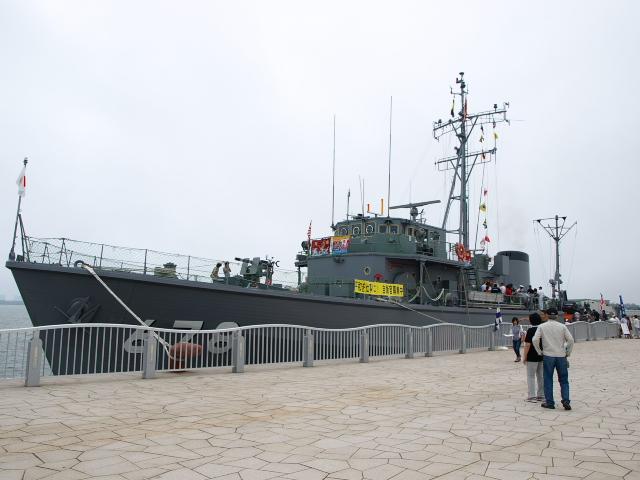 掃海艇 とびしま_d0153062_8385316.jpg