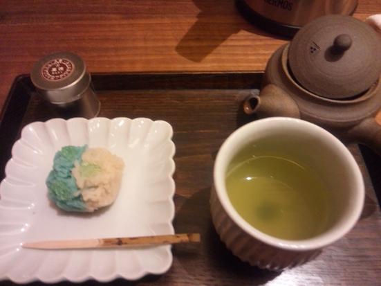 丸の内で美味しいお茶を一服♪「嘉木(かぼく)」@一保堂茶舗_b0051666_833381.jpg
