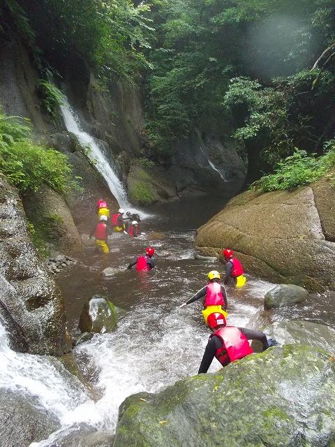 2012由布川渓谷の15m滝下降コース_f0230770_056312.jpg
