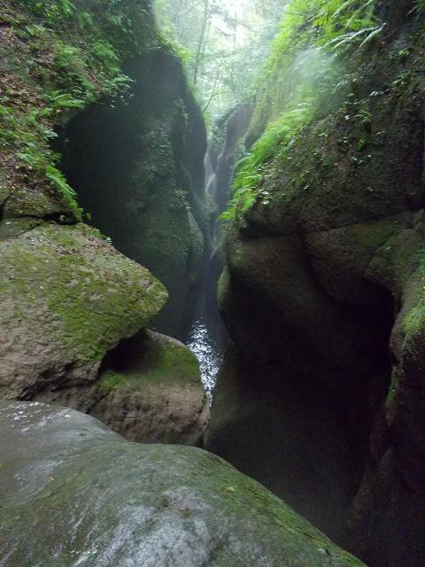 2012由布川渓谷の15m滝下降コース_f0230770_125148.jpg