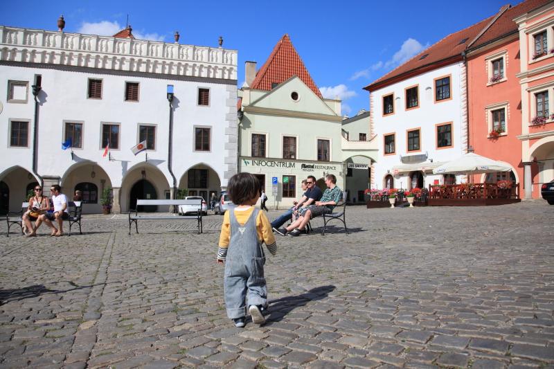 チェスキークルムロフの旧市街_c0187779_2312494.jpg