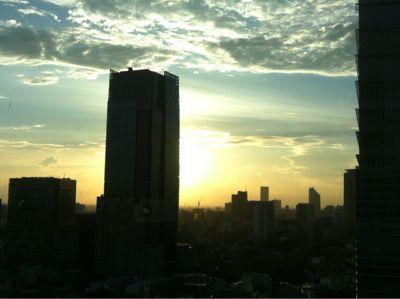 都内の夕焼け_f0186787_18172967.jpg