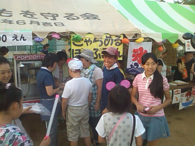 泉ヶ丘納涼盆踊り_e0068696_21294658.jpg