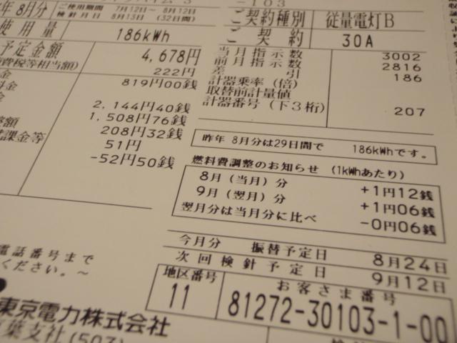 「8月の電力料金」(@東京電力)_f0064203_7403315.jpg