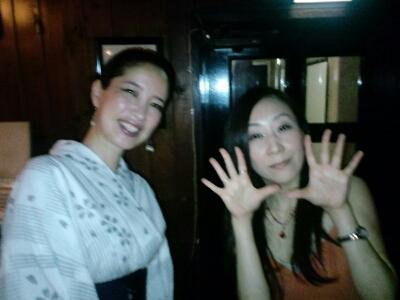 IZUMIでした〜(^^♪明けて本日17日は六本木チャーリーズクラブです。_f0178313_133936.jpg