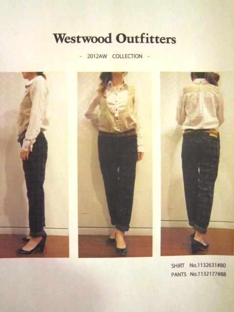 ""\""""Westwood Outfitters"""" 2012 A/W START_f0191324_9545830.jpg""480|640|?|en|2|c403bc6c98f9f1acc23d118ca8868818|False|UNLIKELY|0.2933475375175476