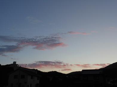 晩夏の夕暮れは…_e0175370_956546.jpg