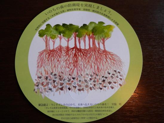 「緑の防波堤の発案者の講演会」に~☆_a0125419_19533264.jpg