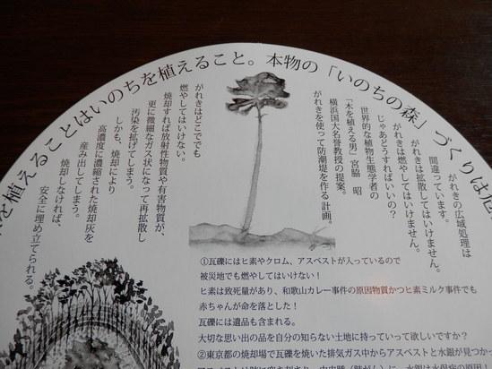 「緑の防波堤の発案者の講演会」に~☆_a0125419_1954331.jpg