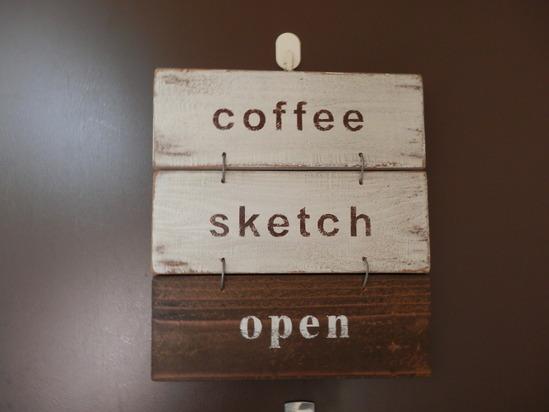 「coffee SKETCH」さんへ~☆_a0125419_20305927.jpg