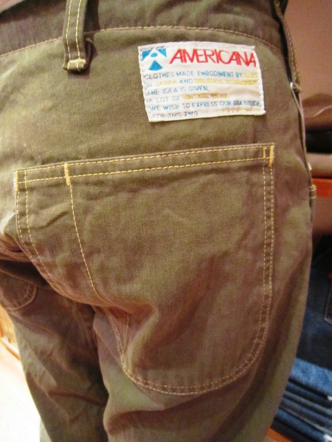 "Americana \""クロップド U.S.M.C PANTS\"" ご紹介_f0191324_9311438.jpg"