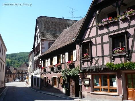 ワイン街道のくまの村、Andlau_d0144726_4405251.jpg