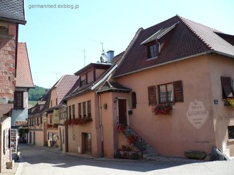 ワイン街道のくまの村、Andlau_d0144726_442932.jpg