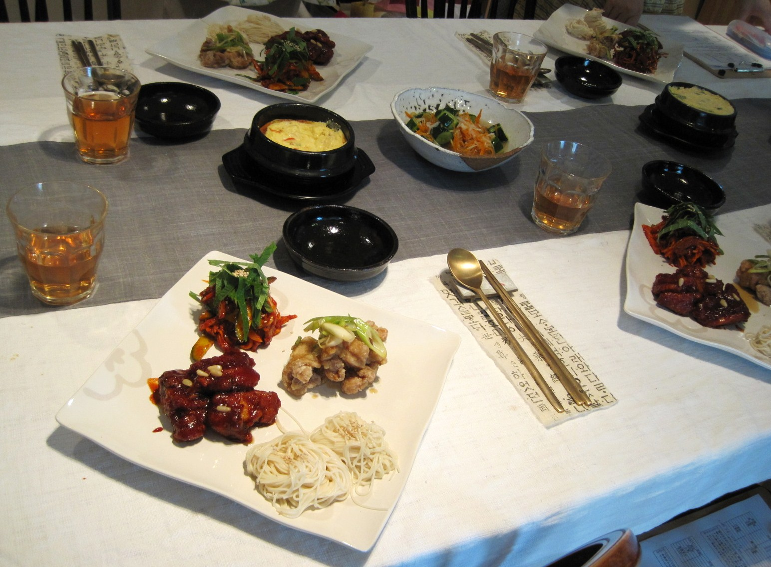 はるはる先生の韓国料理教室・8月_f0236260_0381982.jpg
