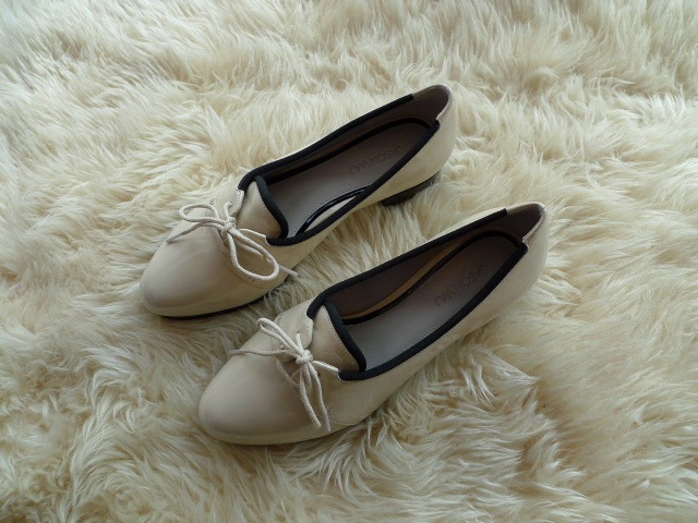 JASON WU TERESE BROGUES SHOES PATENT IVORY 再入荷_f0111683_15323041.jpg