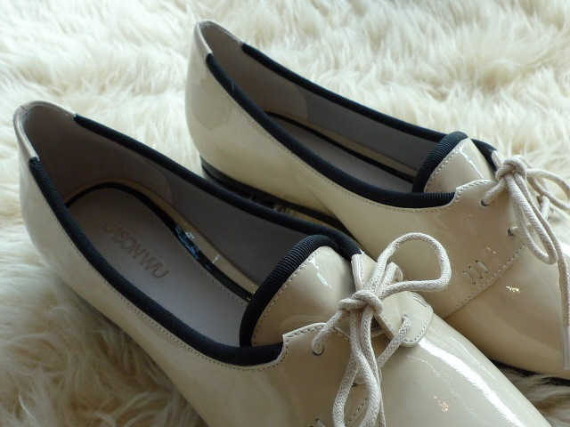 JASON WU TERESE BROGUES SHOES PATENT IVORY 再入荷_f0111683_15332079.jpg