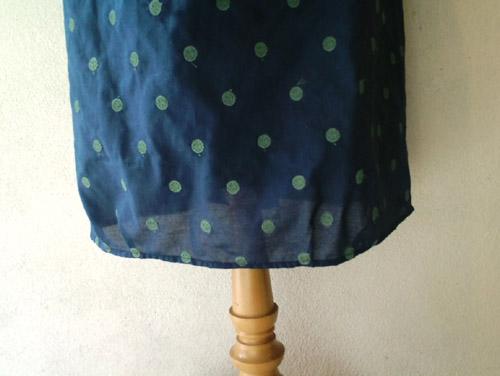 水玉刺繍のワンピース (フルオーダー)_b0199696_17573144.jpg