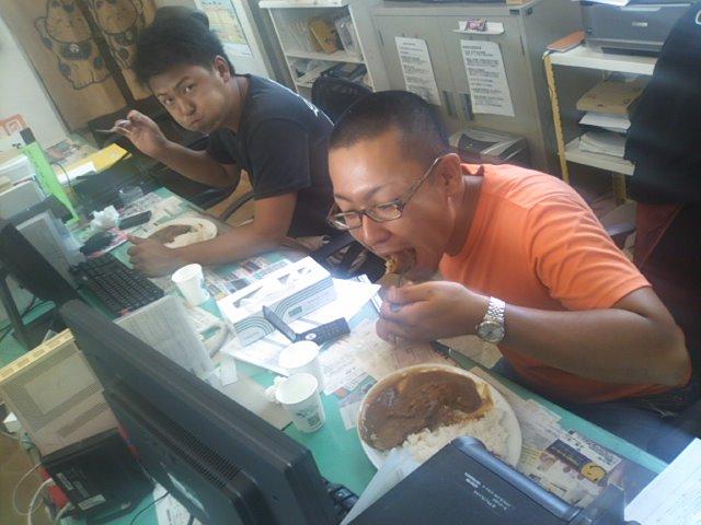 カツカレー(^^)今週は食べれました!_b0127002_1316617.jpg