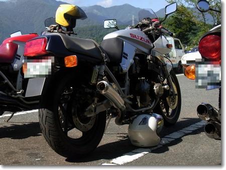 もう秋の気配?、今日はバイクの日。_c0147448_16382149.jpg