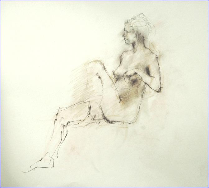 《裸婦クロッキー》_f0159856_1548531.jpg