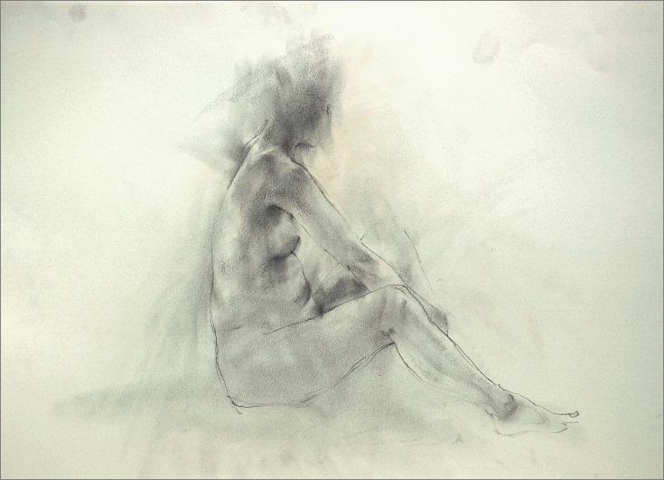 (裸婦素描・クロッキー)_f0159856_1661331.jpg