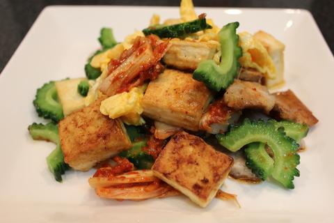 簡単!真夏の豚キムチ料理_a0223786_1041743.jpg