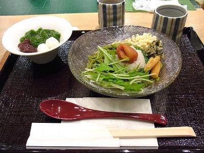 京都駅SUVACO 中村藤吉の抹茶ゼリー_e0139694_19315249.jpg