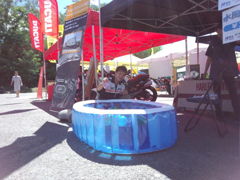 バイクde夏祭り ご来場ありがとうございました☆ _a0169121_1412994.jpg