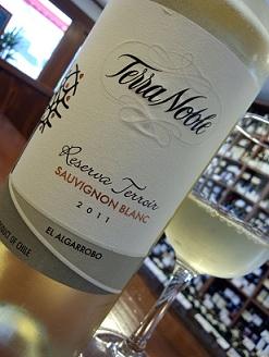 チリの白ワイン・・・_a0254125_19374920.jpg
