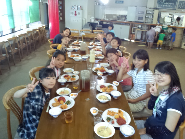 第43回 氷ノ山しらカバ倶楽部 サマーキャンプ初日!_f0101226_23172360.jpg
