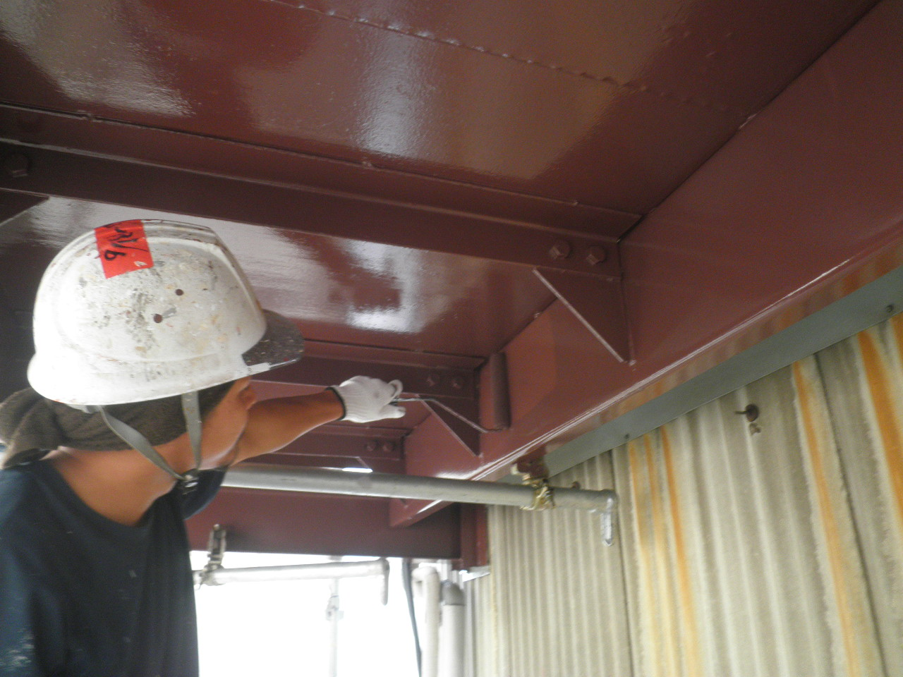 外部階段塗装②-5_e0164638_16291330.jpg
