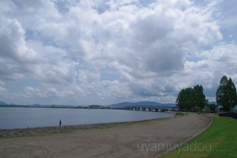 琵琶湖・自転車でおでかけ....._a0157263_2224498.jpg